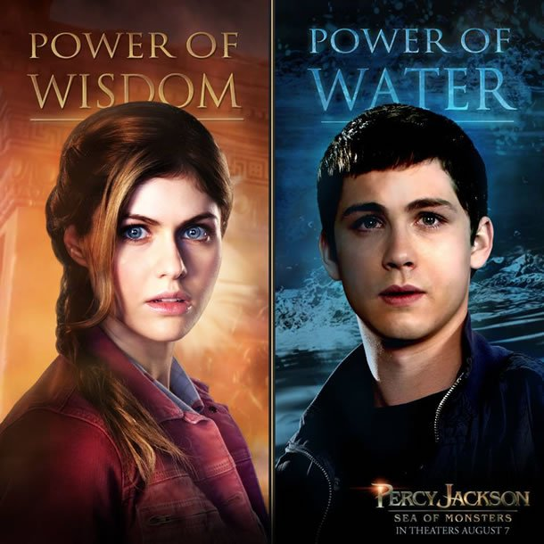 Percy Jackson: Sea of Monsters Character Portrait