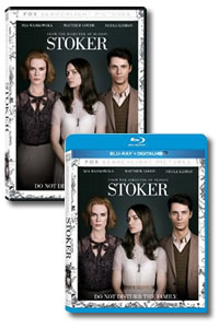 Stoker on DVD Blu-ray today