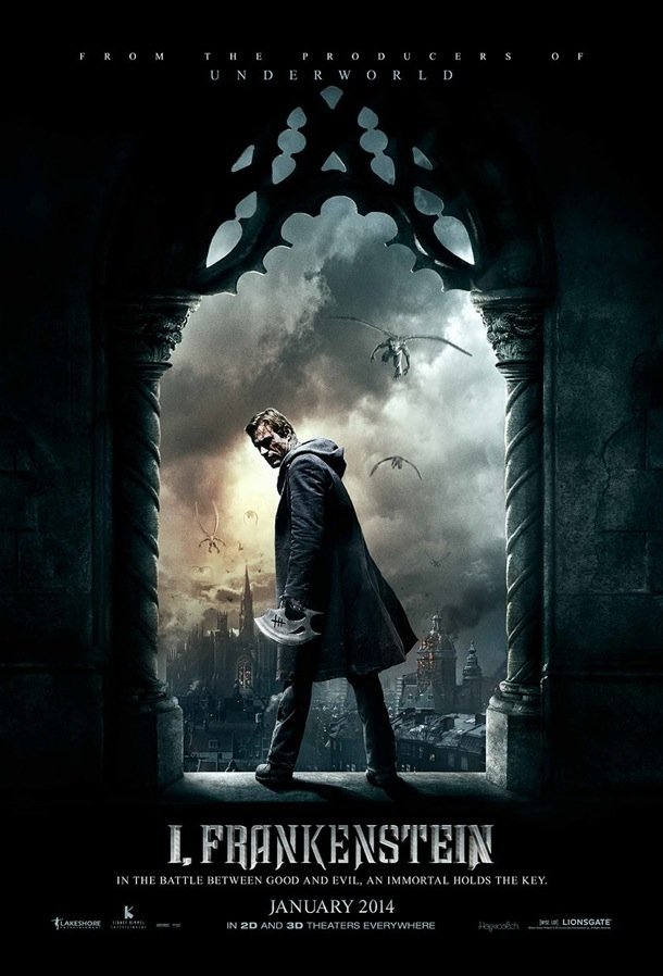 'I, Frankenstein' Comic Con Posters | Rope of Silicon