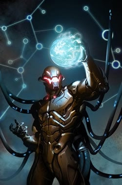 Tony Stark creates Ultron in Avengers 2