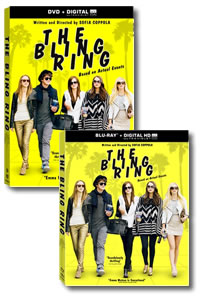 The Bling Ring on DVD Blu-ray today