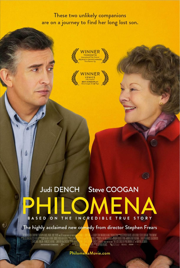 Image result for movie poster philomena