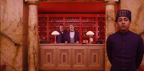 Grand Budapest Hotel movie trailer
