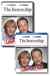 The Internship on DVD Blu-ray today