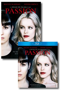 Passion on DVD Blu-ray today