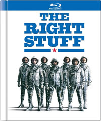 The Right Stuff on DVD Blu-ray today