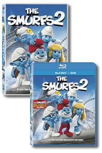 The Smurfs 2 on DVD Blu-ray today