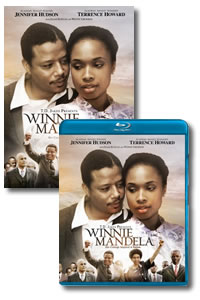 Winnie Mandela on DVD Blu-ray today