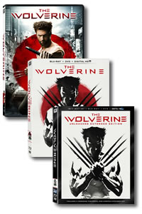 The Wolverine: Unleashed Extended Edition 3D Blu-ray on DVD Blu-ray today