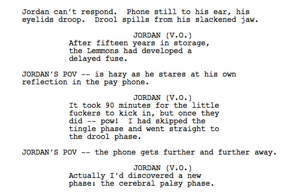 Wolf of Wall Street screenplay