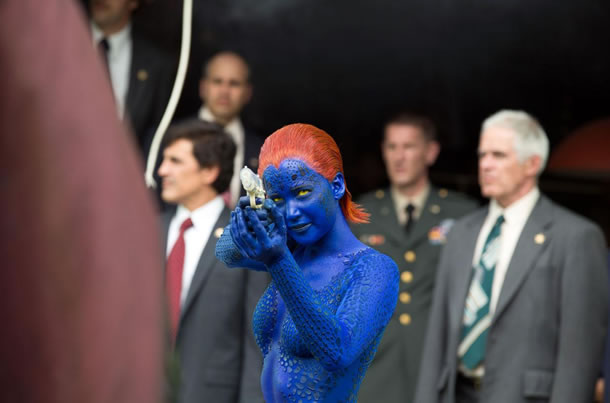 There are multiple Jennifer Lawrence movies in the X-Men franchise.