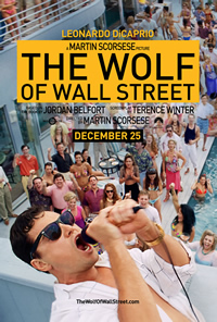 The Wolf of Wall Street on DVD Blu-ray today