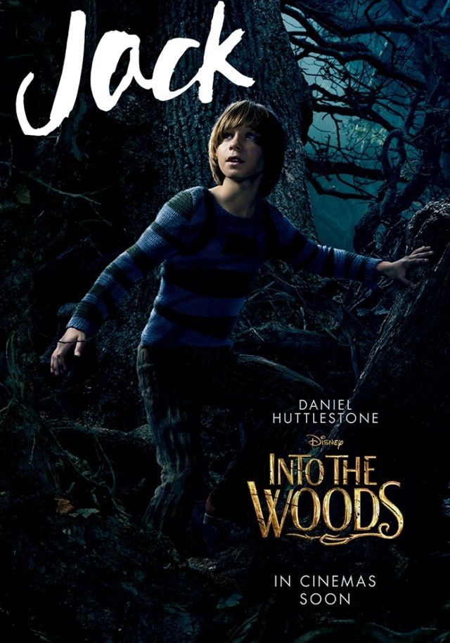 10 new into the woods character posters come to life comingsoon net