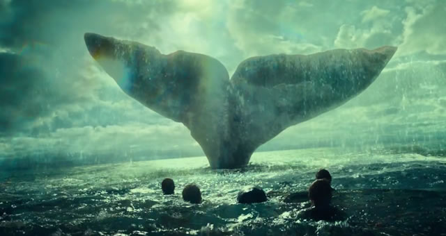 New In the Heart of the Sea Trailer Displays Shock and Awe of a Whale Hunt