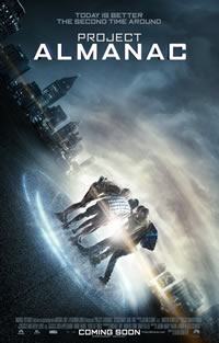 Project Almanac on DVD Blu-ray today