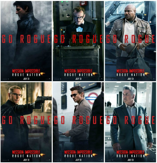 MI5 Character Posters