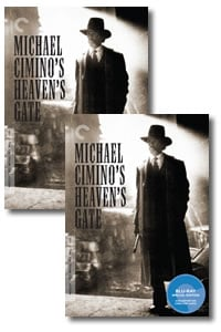 Heaven's Gate - Criterion Collection on DVD Blu-ray today