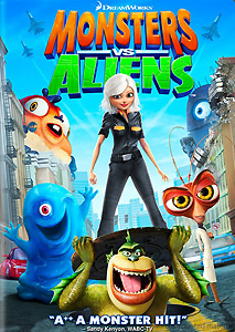 monsters vs aliens ginormous double dvd pack