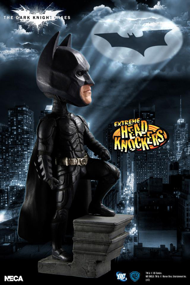 The dark knight rises head knockers revealed comingsoon net