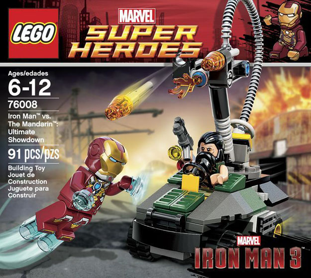 New iron man 3 legos reveal potential spoilers - Lego iron man 3 ...