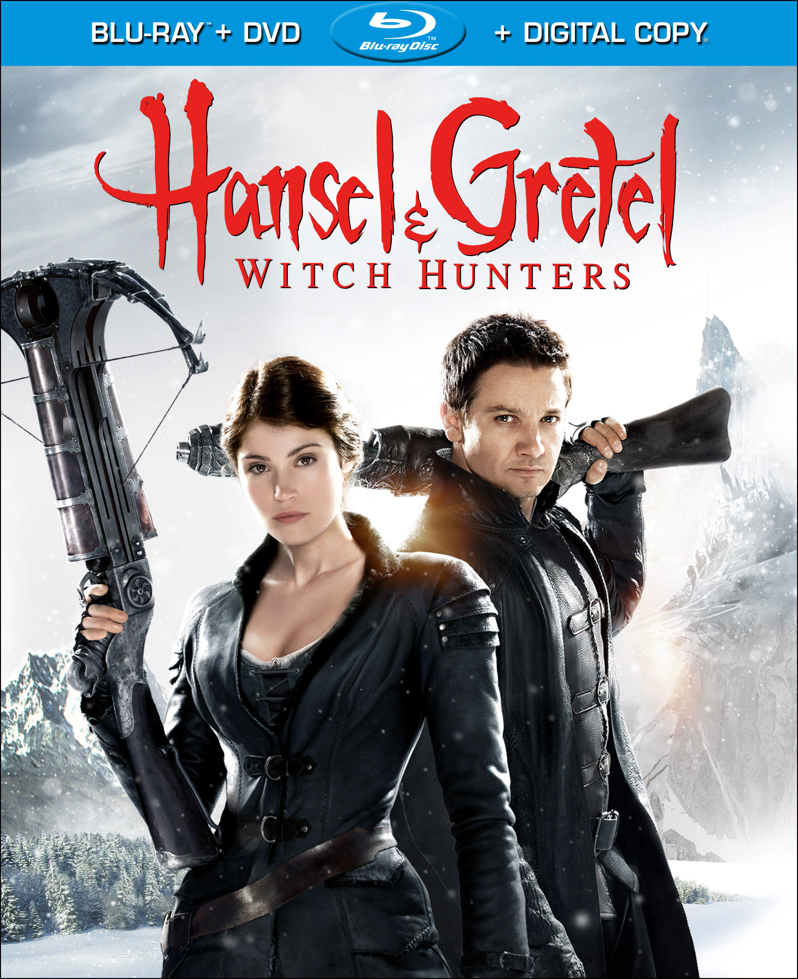 Awesome Hansel Gretel Witch Hunters Hits Dvd And Blu Ray June 11 Short Hairstyles For Black Women Fulllsitofus