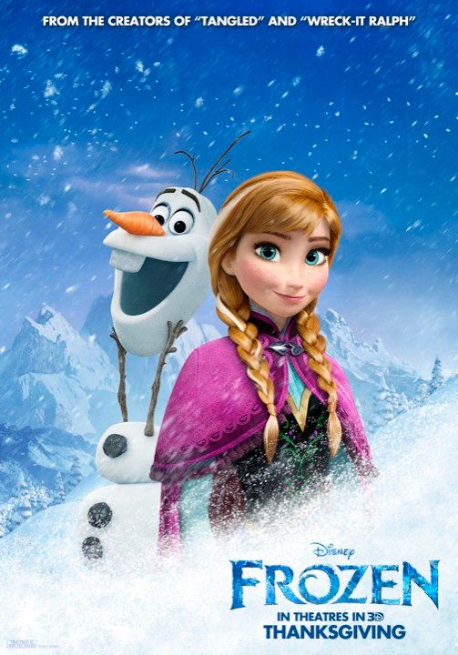 disney thaws out four new frozen posters comingsoonnet