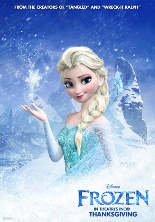 Disney Thaws Out Four New Frozen Posters - ComingSoon.net
