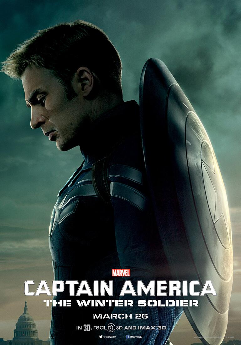 three character posters for captain america the winter soldier released. Black Bedroom Furniture Sets. Home Design Ideas
