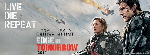 The Invasion has Begun in the Latest Edge of Tomorrow Banner