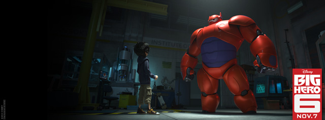 Get a Sneak Peek at the Big Hero 6 Teaser Trailer