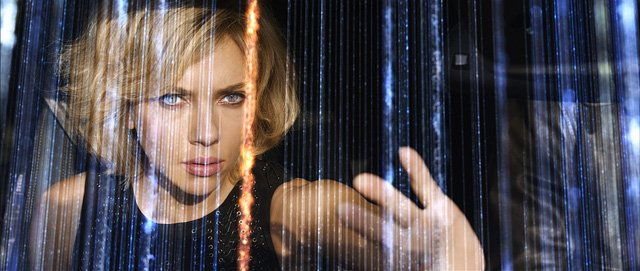 Scarlett Johansson Uses Her Entire Brain in Latest Lucy TV Spot
