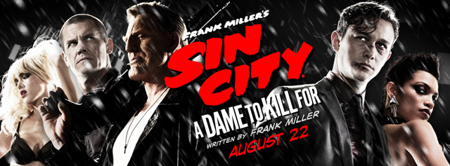 Check Out the Frank Miller?s Sin City: A Dame to Kill For Theater Lobby Display