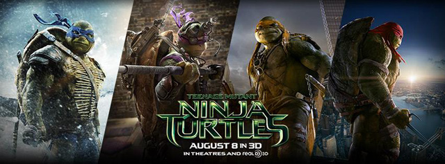 New International Posters for Teenage Mutant Ninja Turtles Debut