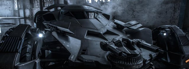New Batman v Superman: Dawn of Justice Set Photos Reveal the Batmobile in Action!