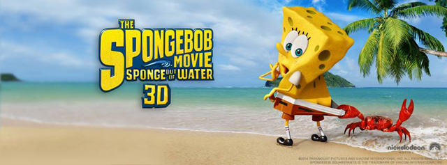 New clip for The SpongeBob Movie.