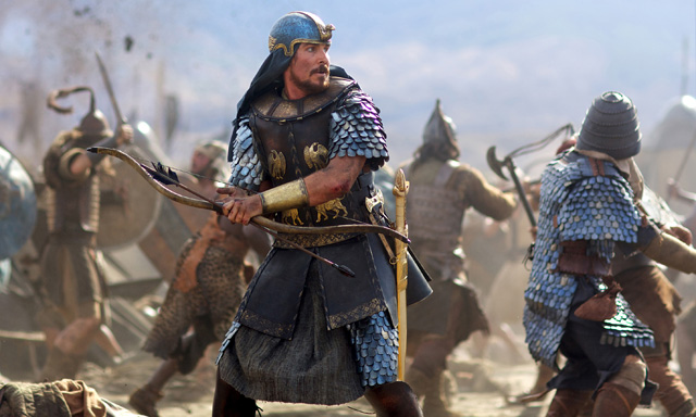 Ridley Scott Mudslide in Exodus: Gods and Kings