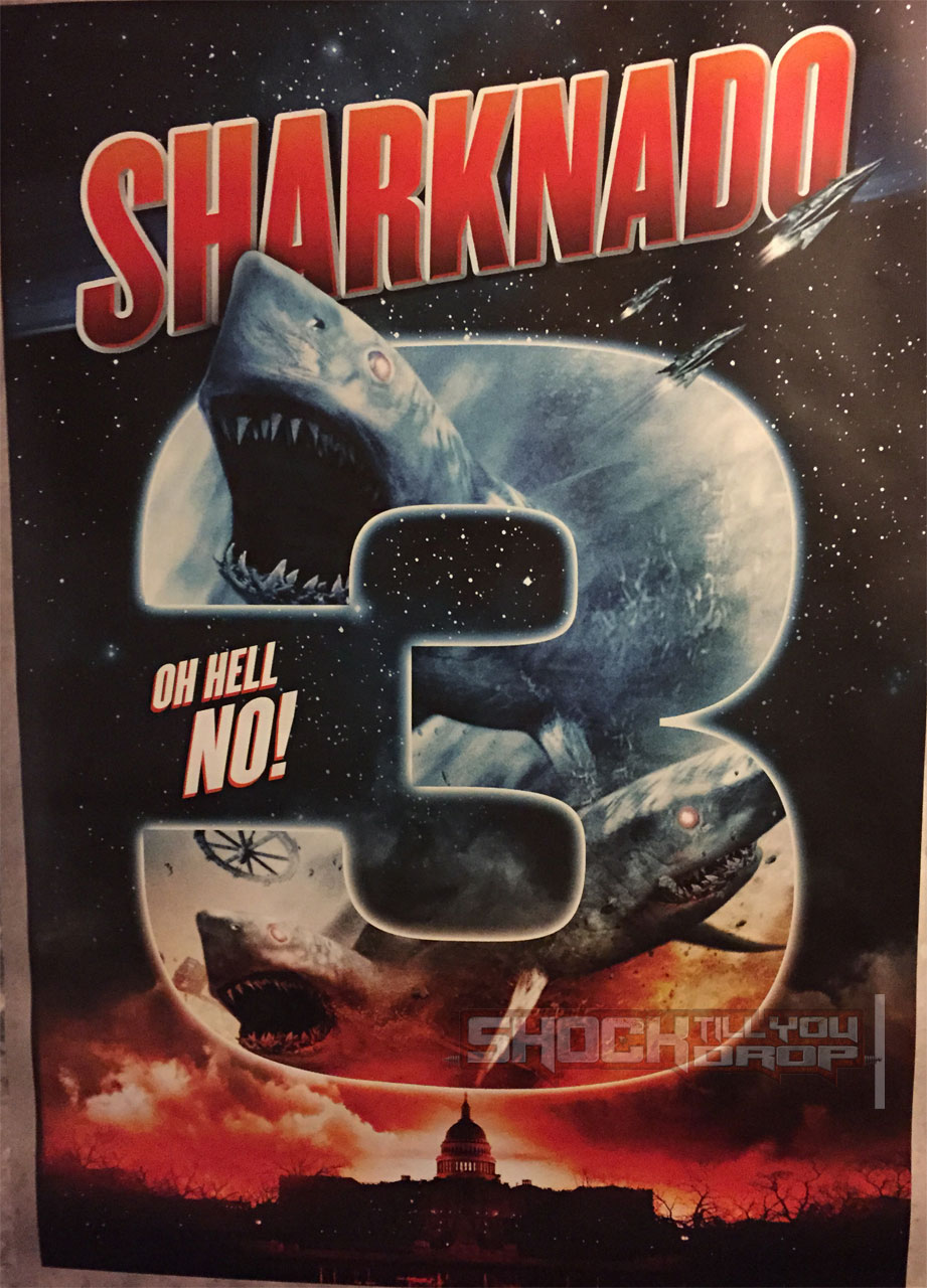 Sharknado 3 Poster Teases Washington Story, Outer Space ...
