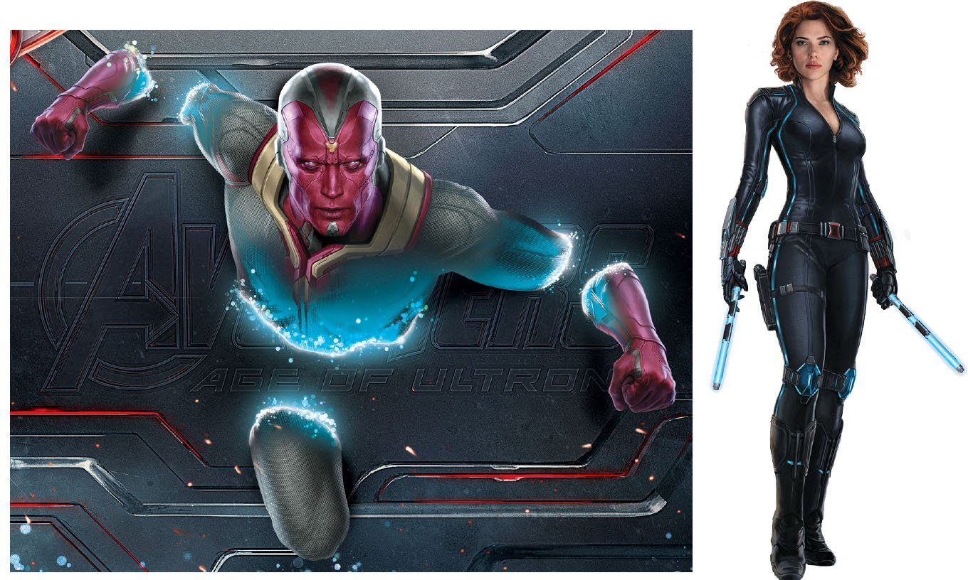 New Avengers 2 promo art reveals better look at Vision and