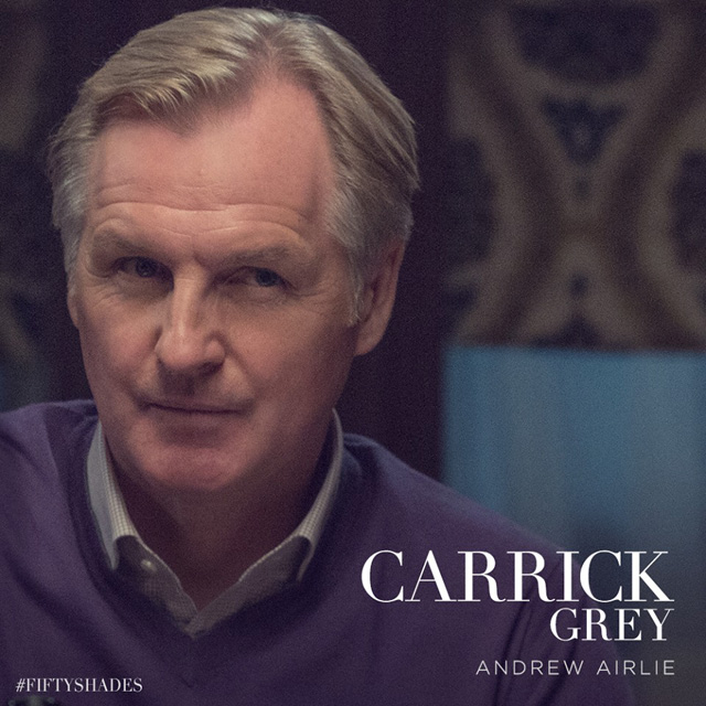 Andrew Airlie as Carrick Grey in Fifty Shades of Grey