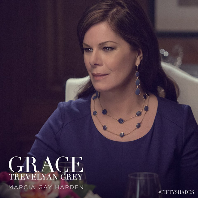Marcia Gay Harden as Dr. Grace Trevelyan-Grey in Fifty Shades of Grey