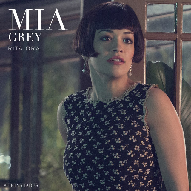 Rita Ora as Mia Grey in Fifty Shades of Grey