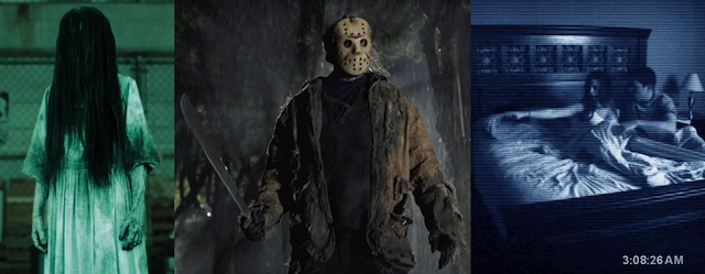 Friday the 13th, Rings and Paranormal Activity