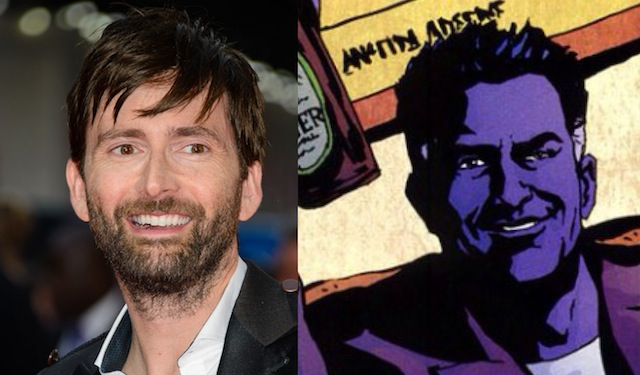 The Purple Man David Tennant