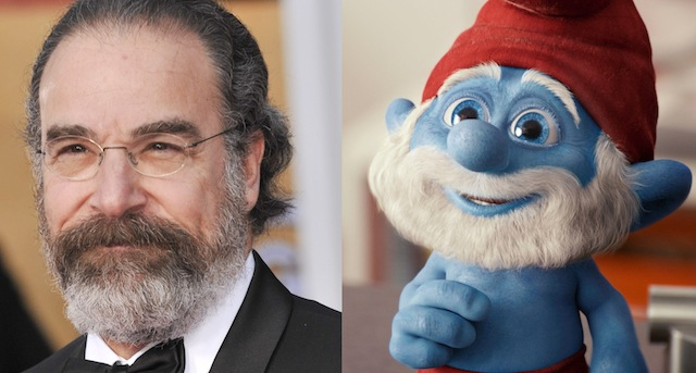 The Smurfs Reboot Mandy Patinkin