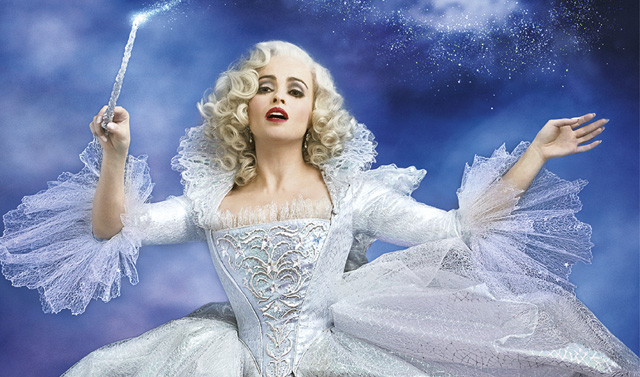 Helena Bonham Carter returns to the fantasy genre as the Fairy Godmother in Disney's Cinderella (2015).