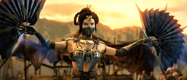 Kitana in Mortal Kombat X