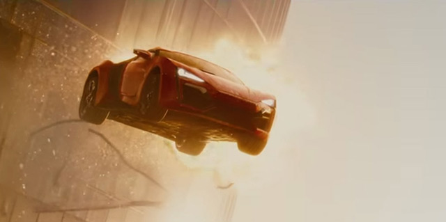 The Lykan HyperSport was revealed as an addition to The Fast and the Furious franchise in a big way during this year's Furious 7 Super Bowl spot.