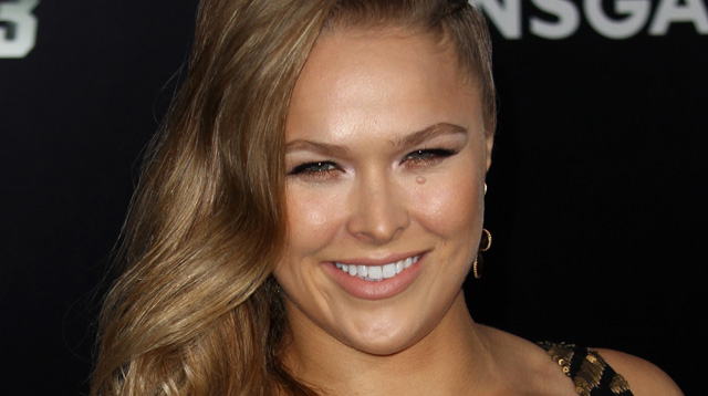 UFC Fighter Ronda Rousey makes a return to the action-packed silver screen in Furious 7, out April 3.