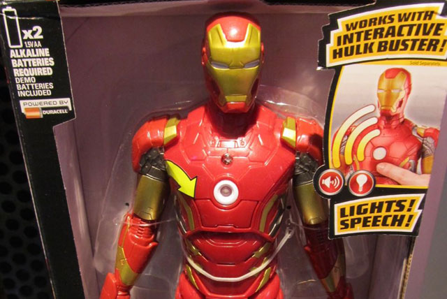 Built for play, Hasbro's Titan Hero Tech Figures feature light and sound effects to excite imagination inspired by the Avengers: Age of Ultron movie!