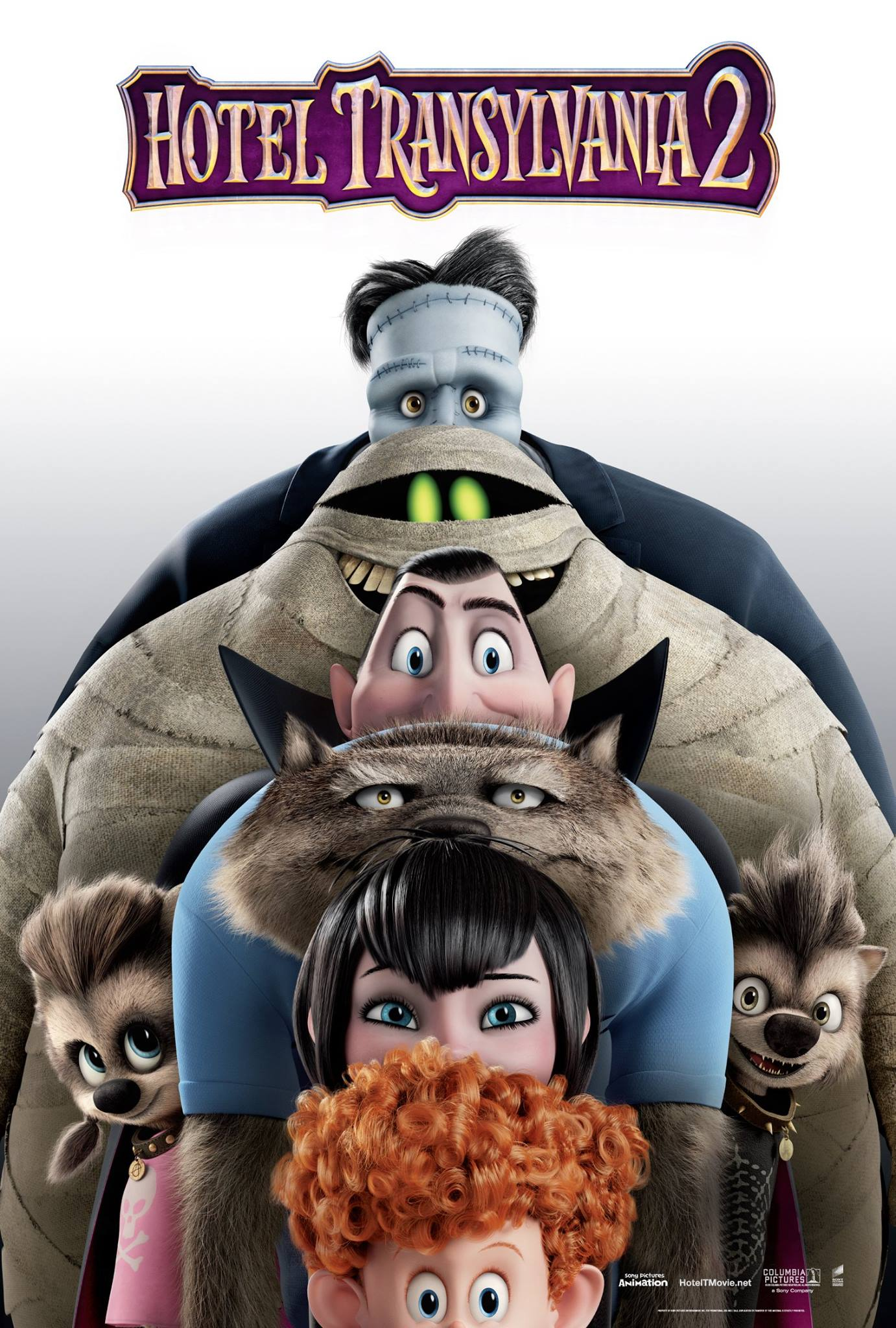 A New Hotel Transylvania 2 Poster Features a Monstrous ...